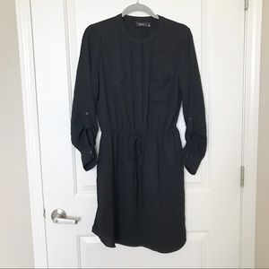 APT 9 • Black Long Sleeve Dress Elastic Waistband